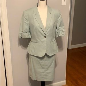The Limited Skirt And Blazer Set